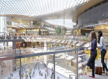 Brent Cross Shopping Centre in North West London