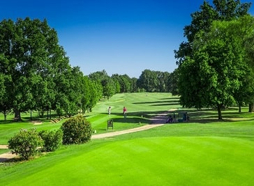 Hendon Golf Club in North West London