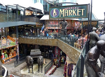 The Stables Market in North West London